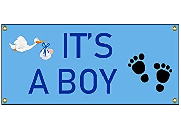 amazon it s a boy congratulations banner welcome home sign 36 by