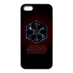 Star Wars Pattern Design Solid Rubber Customized Cover Case for iPhone 4 4s 4s-linda351