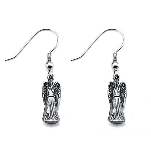 Weeping Angel Doctor Who Costumes (Doctor Who Weeping Angels Dangle Earrings (Silver-Tone))