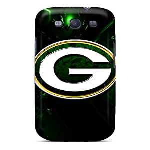 Awesome Nlk2581mnMT Richardcustom2008 Defender Tpu Hard Cases Covers For Galaxy S3- Green Bay Packers