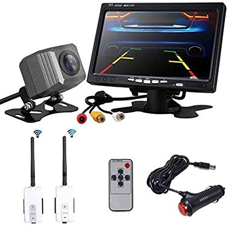 OBEST 7인치 LCD monitor + 디지털 무선신호 12V / 24V