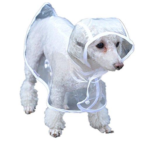 Dog Puppy Raincoat - 6