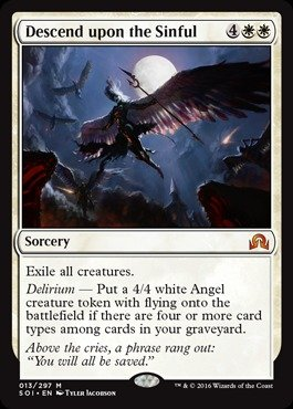 Magic: the Gathering - Descend Upon the Sinful - Shadows Over Innistrad