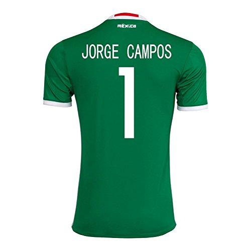 コールド服を洗う巧みなadidas Jorge Campos #1 Mexico Home Jersey Copa America Centenario 2016 - YOUTH/サッカーユニフォーム メキシコ ホーム用 ジュニア向け