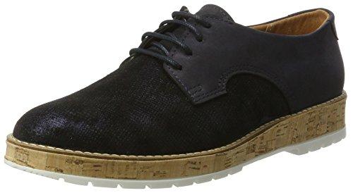 de para 5 Zapatos Azul Blau 950714 Cordones Comfortabel Brogue Mujer TqXEpwF