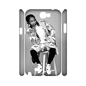 D-PAFD ASAP Rocky Customized Hard 3D Case For Samsung Galaxy Note 2 N7100