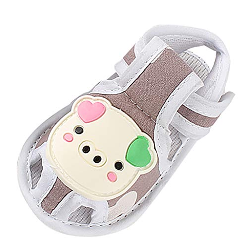 - Tantisy ♣↭♣ Baby Boys Girls Cartoon Pig Toddler Shoes/Soft Sole Flax Comfy Moccasins Crib First Walkers Shoes Coffee