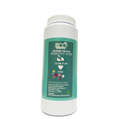 Doo Drops Diaper Odor Eliminator with Easy Applicator- Uses Safe and Powerful Deodorizer, Floral Scents, and Baking Soda to Absorb and Coat Odors - up to 150 Uses by Doo Drops (Image #2)
