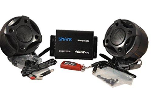 Shkmsm2050k black Motorcycle Speakers Amplifier Wireless