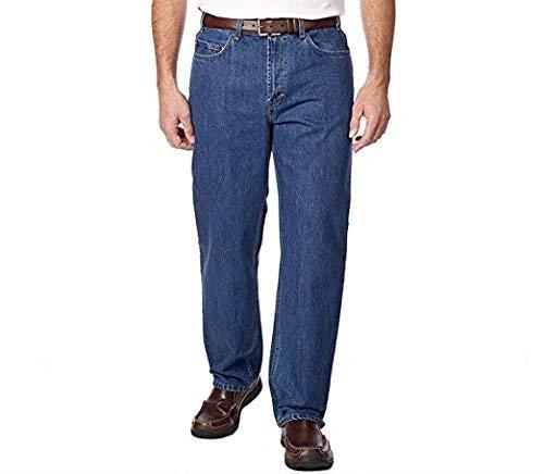 Kirkland Signature Mens 5-pocket Blue Jean,light Wash (36 X 34)