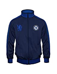 Chelsea Football Club Official Gift Boys Retro Track Top Jacket 12-13 Years XLB
