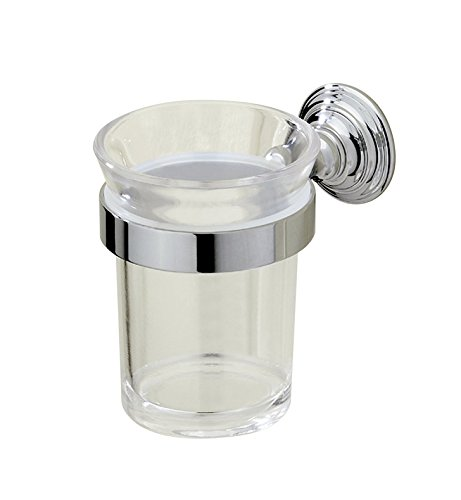 Valsan 66325 Kingston Tumbler Holder With Finish: Polished Nickel by Valsan