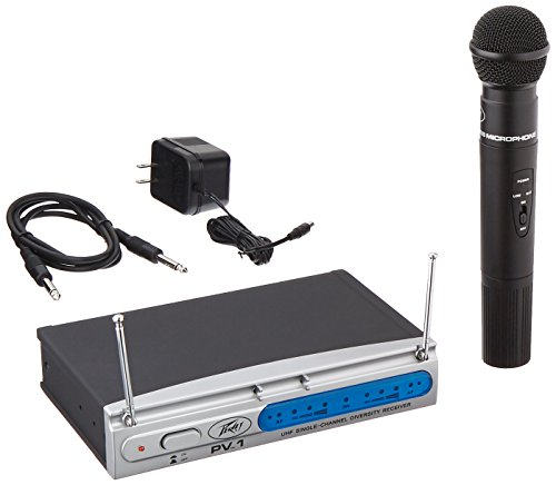 700 Uhf Wireless Systems - Peavey PV1UHH911700 700 MHz UHF Handheld Wireless Microphone System