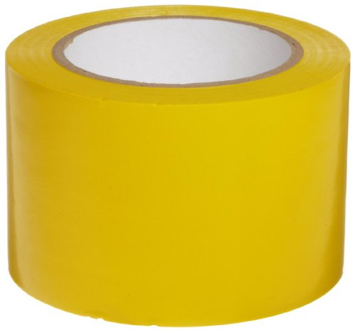 Yellow Aisle Marking Tape - Brady 108' Length, 3