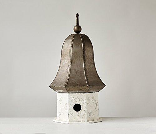 Creative Co-Op Decorative Metal Birdhouse