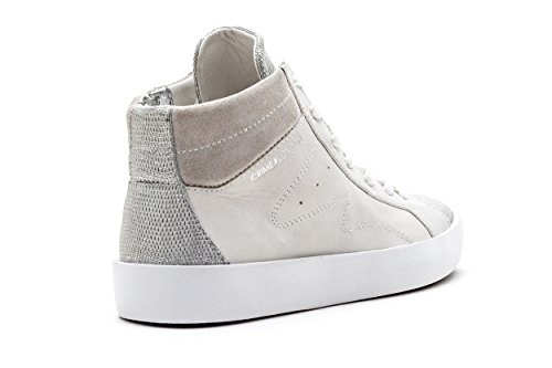 donna sneakers EUR CRIME in pelle Bianco 25121S17B 37 p4wES