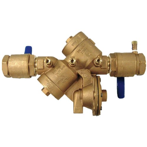 Zurn 114-975XL Wilkins Reduced Pressure Zone 1 1/4-Inch Backflow Preventer by Zurn