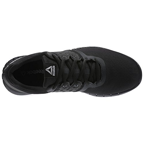 Reebok Zprint Run Neo, Zapatillas de Running Para Hombre Negro  (Black / Coal / Pure Silver / White)