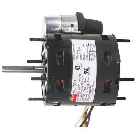 - Dayton 6NZR4 HVAC 3.3 Motor, PSC, TEAO, 1/10 HP, 115 V