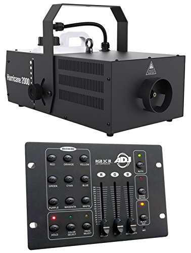 Chauvet DJ Hurricane 2000 Pro Fog Machine Fogger W/Built-In Timer+DMX Controller -