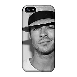 Premium Ian Somerhalder Ian Somerhalder The Vampire Diaries Covers Skin For Iphone 5/5s Mobile
