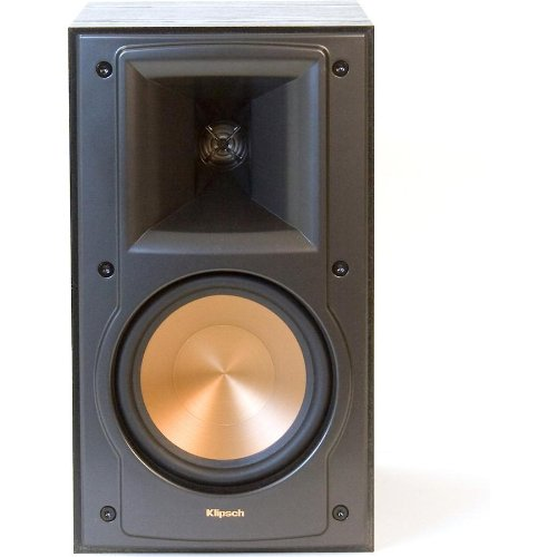 klipsch rb 51 ii black pr 2 way bookshelf speakers. Black Bedroom Furniture Sets. Home Design Ideas