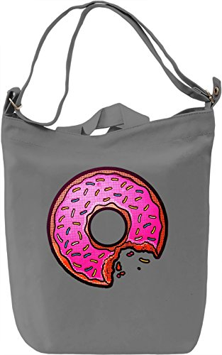 I Like Donut Borsa Giornaliera Canvas Canvas Day Bag| 100% Premium Cotton Canvas| DTG Printing|
