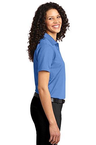 Port Authority® Ladies Dry Zone® Ottoman Polo. L525 Blue Lake XXL