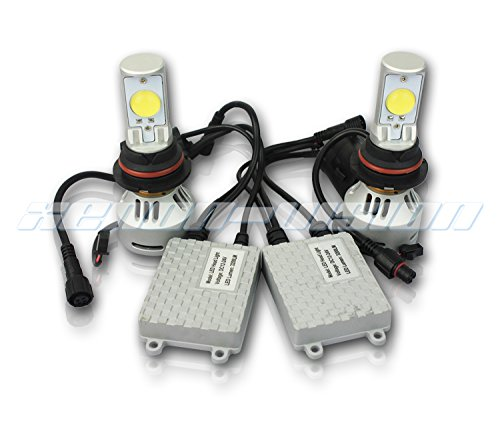 Xenon-Vision 80W 6400LM CREE LED Headlight Conversion Kit - 6500K - All Bulb Sizes - 9004 Dual Beam Cree LED