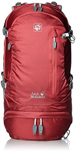 Jack Wolfskin Highland Trail Rucksack, Red Fire, 36 L