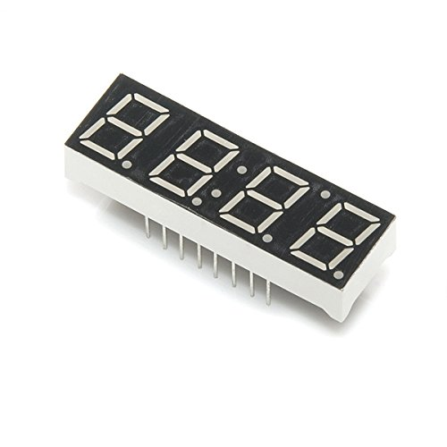 green 7 segment display - 8