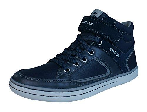 Geox Jr Garcia Boy a, Zapatillas Altas para Niños Blue