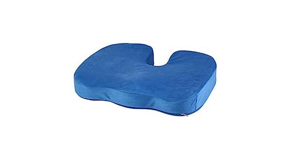 Amazon.com: Coccyx Orthopedic Memory Foam Seat Cushion Offic ...