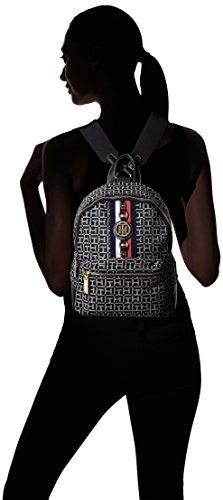 Tommy Hilfiger Women's Backpack Jaden, Black/White by Tommy Hilfiger (Image #4)