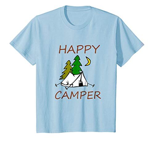 Happy Camper Funny Camping T-Shirt