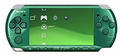 "PSP ""Playstation Portable"" Spirited Green (Psp-3000sg)"