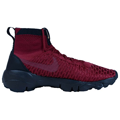 Nike Air Footscape Magista Flyknit F.C Men's Shoes Red (Team Red / Black-team Red-metallic Gold) MftxlC