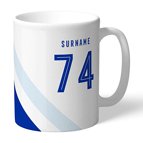 Brighton & Hove Albion Official Personalized Stripe Mug - FREE ()