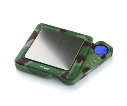 (American Weigh Scales AWS Blade Series Digital Pocket Weight Scale, Camo, 650 X 0.1G)