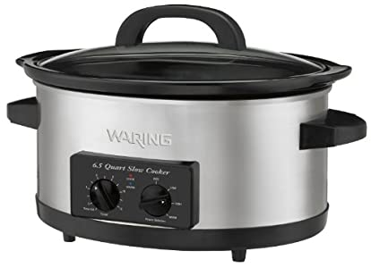 Waring WSC650 Professional 6-1/2-Quart Slow Cooker : Simple. large, and reliable. Just what we needed.