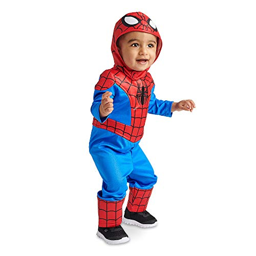 Marvel Spider-Man Costume for Baby Size 6-12 MO Multi -