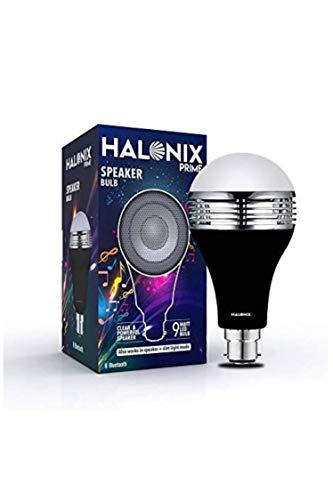 Halonix Bluetooth Speaker Bulb 9Watt/0.5Watt