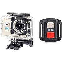 Full HD Waterproof H16R Wifi HD 1080P Ultra Sports Action Camera DVR Cam Camcorder,Sports Camera (Beige)