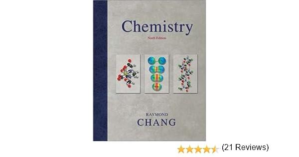 Chemistry raymond chang 9780073221038 amazon books fandeluxe Gallery