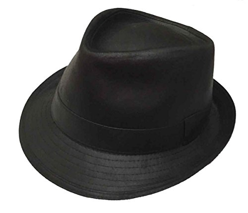 Dobbs Urban Suede Look Fedora,Black, Large]()