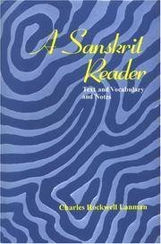 Download A Sanskrit Reader: Text,Vocabulary and Notes ebook