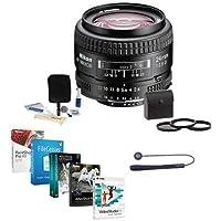 Nikon 24mm f/2.8D ED AF NIKKOR Lens - USA Warranty - Accessory Bundle w/52mm Filters & Pro Software