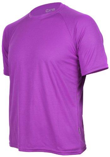 CONA BASIC - Unisex - Kurzarm Funktionsshirt in 24 Farbvarianten erhältlich XS,Violet