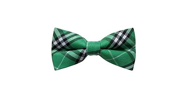 JOSVIL Pajarita hombre Cuadros Vintage Verde - Pajarita Elegante ...