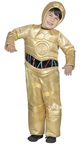 (Princess Paradise Classic Star Wars Premium C-3Po Costume, Gold,)